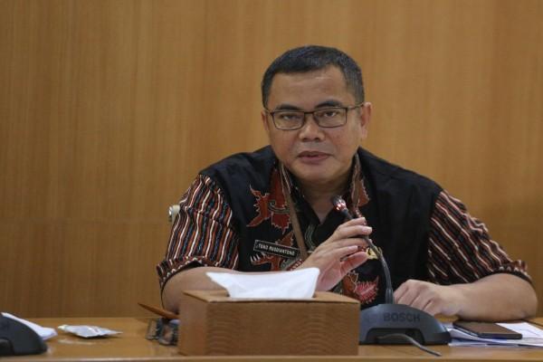Kepala Dinas Sosial dan Penanggulangan Kemiskinan (Dinsosnangkis) Kota Bandung Tono Rusdiantono - Bisnis/Dea Andriyawan
