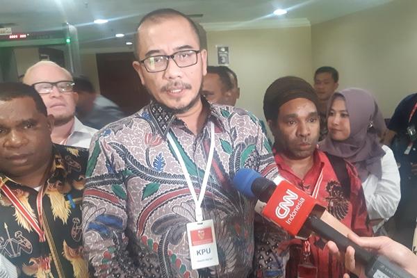 Komisioner Komisi Pemilihan Umum (KPU) Hasyim Asyari - Bisnis/Jaffry Prabu Prakoso