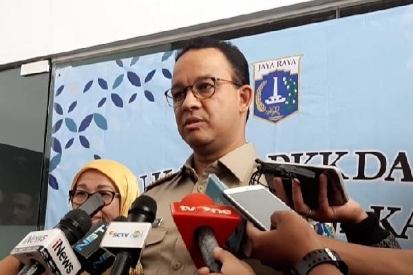 Gubernur DKI Jakarta Anies Baswedan - Bisnis/Aziz R