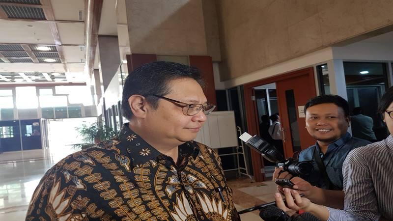 Ketua Umum Golkar Airlangga Hartarto. - Bisnis/Jaffry Prabu Prakoso