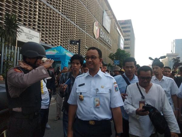 Gubernur DKI Jakarta Anies Baswedan. - Bisnis/Lalu Rahadian