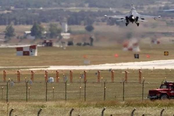 Pangkalan udara Incirlik di Turki ini akan menjadi salah satu basis pasukan koalisi pimpinan AS dalam menyerang posisi-posisi ISIS di Suriah - Reuters
