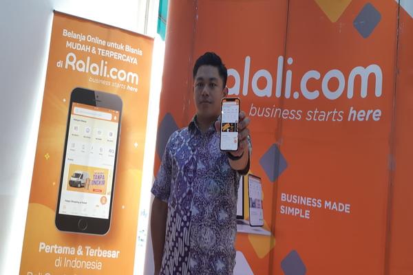 CEO Ralali.com Joseph Aditya  menargetkan Ralali  dapat menjangkau 1 juta pelaku Unit Mikro Kecil dan Menengah (UMKM) pada akhir tahun ini dan ekspansi ke total 25 kota di Indonesia - Deandra Syarizka