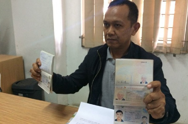 Kepala Sub Seksi Pengawasan Kantor Imigrasi Kelas II Tasikmalaya, Sarial. - Antara