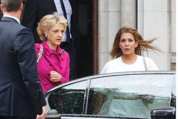 Putri Haya (kanan) - BBC.com