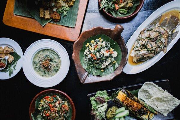 Contoh menu kuliner Restoran Melati Hotel Tugu Malang. - Istimewa