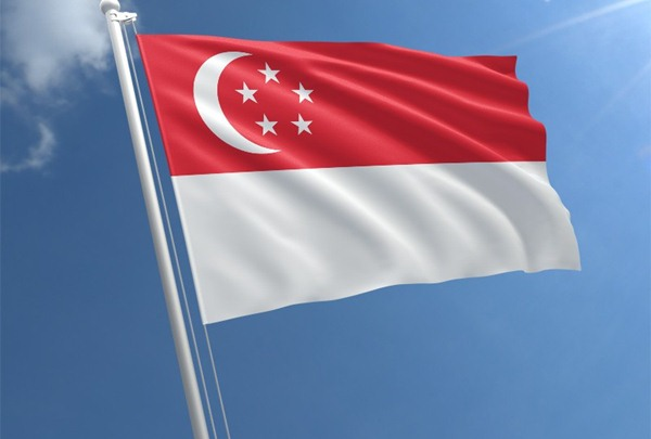 Bendera Singapura - Flag shop