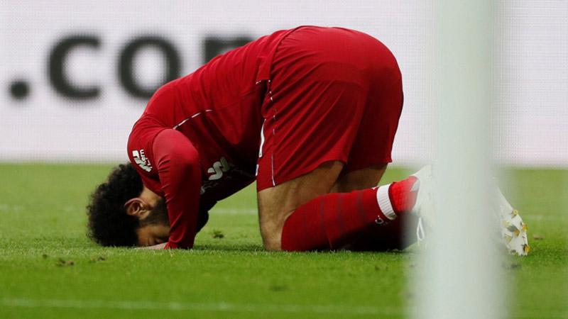 Striker Liverpool Mohamed Salah - Reuters/Lee Smith