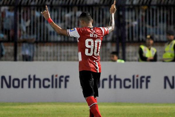Striker Madura United Beto Goncalves - Liga-Indonesia.id