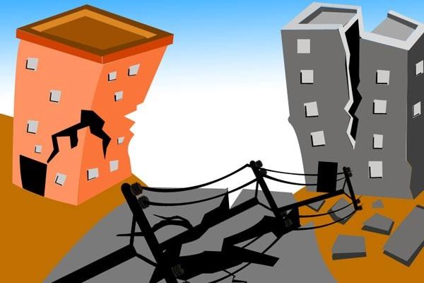 Ilustrasi gempa - Antara