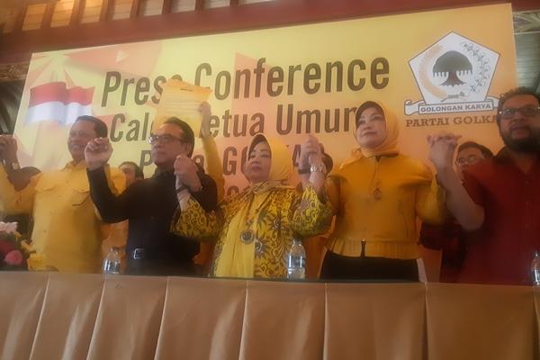 Bambang Soesatyo mendeklarasikan diri sebagai Calon Ketua Umum Partai Golkar periode 2019-2024 - Bisnis/Jaffry Prabu Prakoso