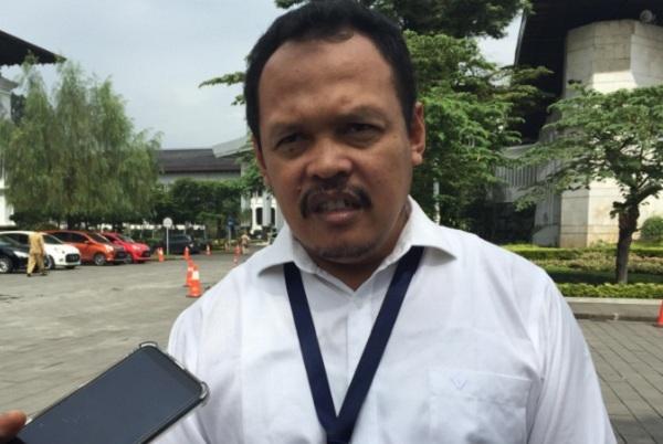 Direktur PT Bandarudara Internasional Jawa Barat (BIJB) Muhamad Singgih - Bisnis/Wisnu Wage