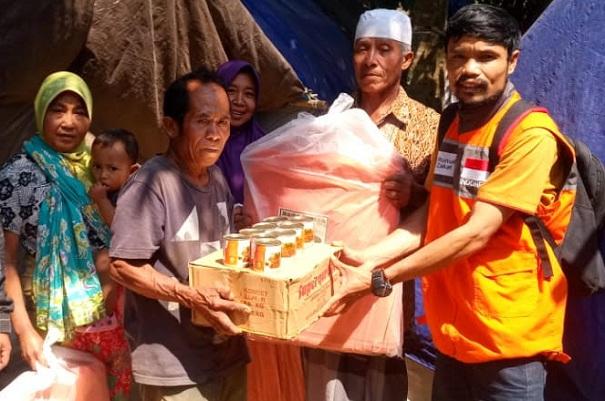 Rumah Zakat telah mendistribusikan 14.398 Superqurban di 59 titik bencana di Indonesia. - Istimewa