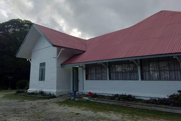 Rumah pengasingan Soekarno di Berastagi Sumat6ra Utara - Dok. Gloria Fransisca Katharina Lawi