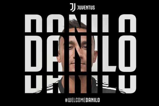 Bek baru Juventus, Danilo - Twitter