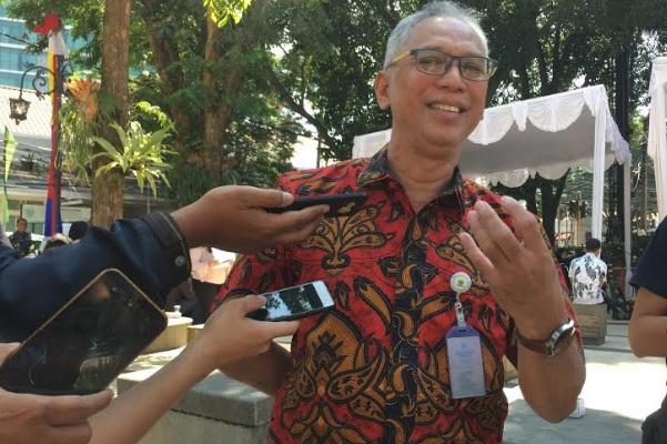 Kepala Badan Pengelola Pendapatan Daerah Arief Prasetya - Bisnis/Dea Andriyawan