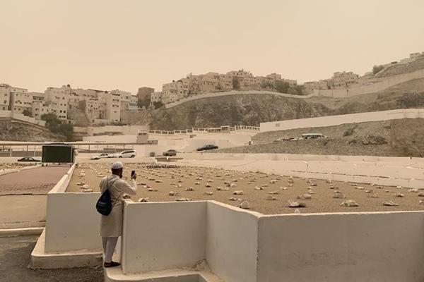 Pemakaman Ma'La Makkah Arab Saudi - Bisnis/Hery Trianto