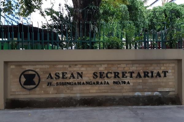 Sekretariat Asean di Jakarta. -Bisnis.com - Samdysara Saragih