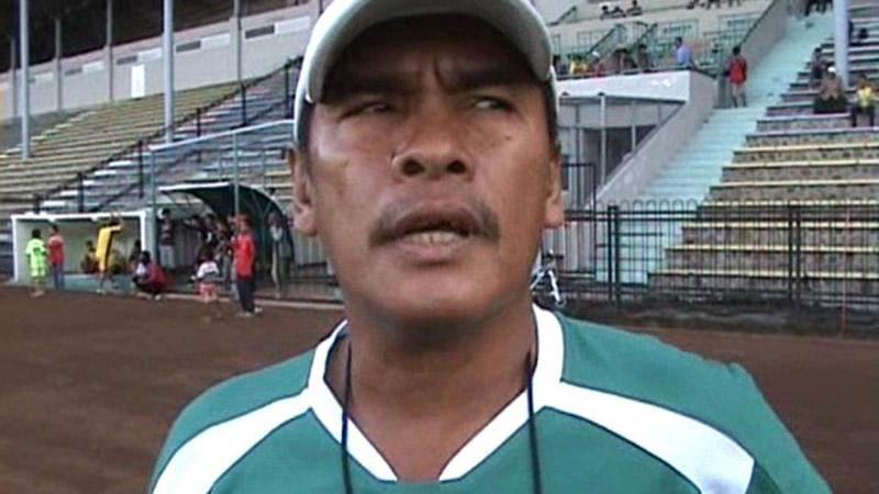 Pelatih PSMS Medan Abdul Rahman Gurning - Istimewa