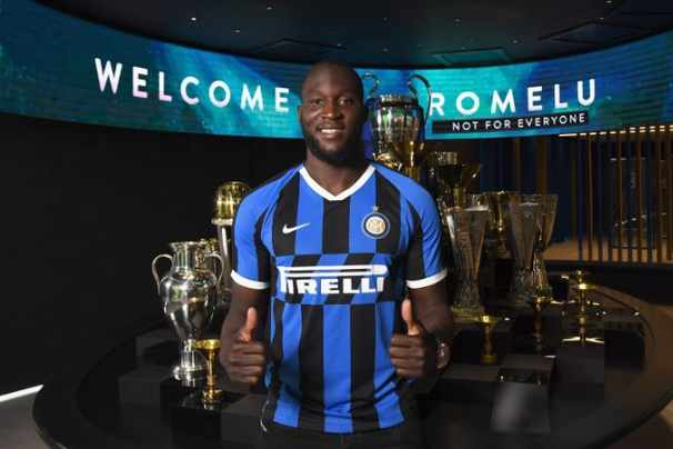 Striker Inter Milan, Romelu Lukaku - Twitter