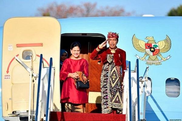 Presiden Joko Widodo dan Ibu Negara Iriana Jokowi bertolak ke Malaysia, Kamis (8/8/2019). - Instagram @jokowi