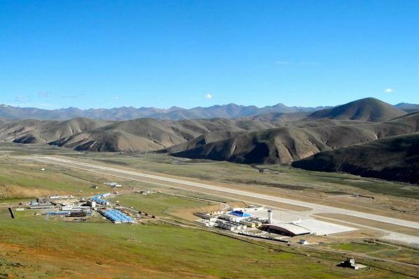 Bandara Qamdo Bamda di China. - tibetdiscovery.com