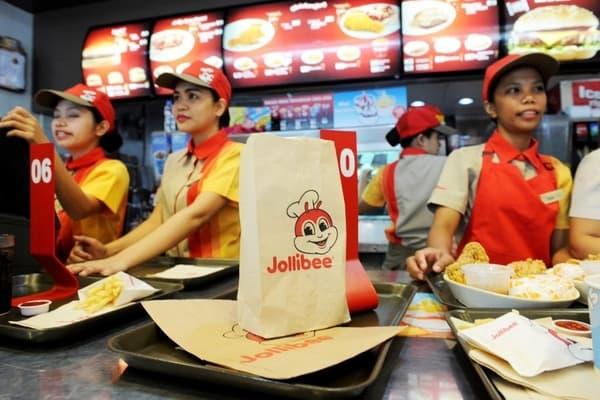 Restoran Jollibee di Filipina - Reuters