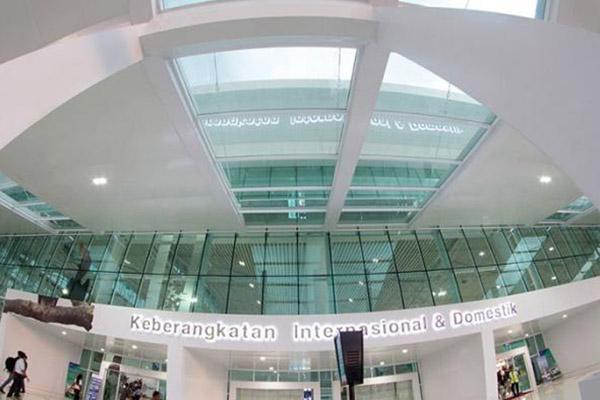 Bandara Sultan Aji Muhammad Sulaiman Sepinggan di Balikpapan, Kalimantan Timur. Akses ke dan dari bandara ini akan ditopang jalan tol Balikpapan Samarinda. - BUMN.go.id