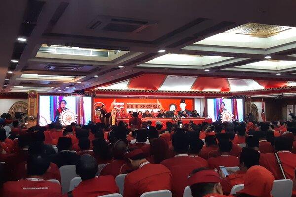 Penutupan Kongres PDIP di Bali.