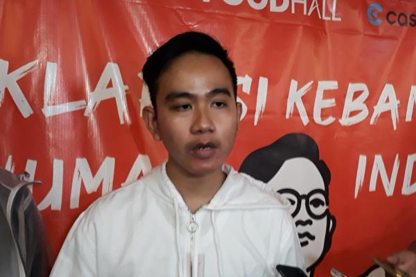 Gibran Rakabuming Raka di Plaza Indonesia, Jumat (5/7/2019). - JIBI/Ria Theresia