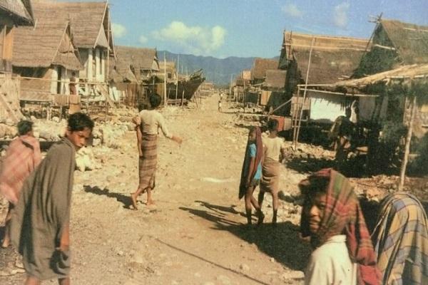 Suku Komodo di Pulau Komodo - Antara