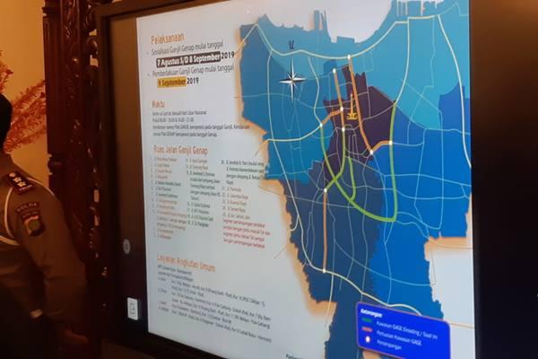 Perluasan ganjil genap di DKI Jakarta. JIBI/Bisnis - Aziz Rahadian