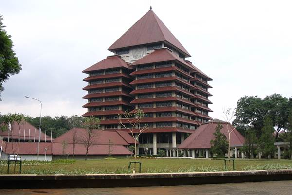 Kampus Universitas Indonesia (UI). - Istimewa
