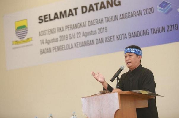 Sekretaris Daerah Kota Bandung, Ema Sumarna - Bisnis/Dea Andriyawan