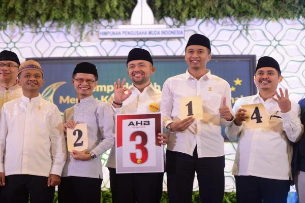 Empat bakal calon Ketua Umum BPP Hipmi periode 2019-2022. - Istimewa