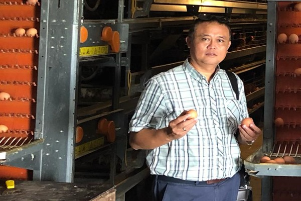 Direktur Utama PT Berdikari (Persero) Eko Taufik Wibowo - Istimewa/Bisnis