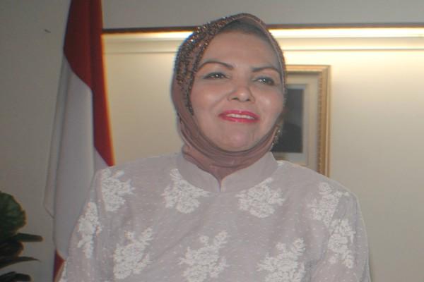 Ketua Badan Kerja Sama Antar Parlemen (BKSAP) DPR Nurhayati Ali Assegaf - Bisnis/Stefanus Arief Setiaji