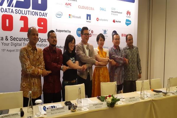 Pembukaan Metrodata Solution Day 2019 di Jakarta, Kamis (15/8/2019). - Bisnis/Rahmad Fauzan