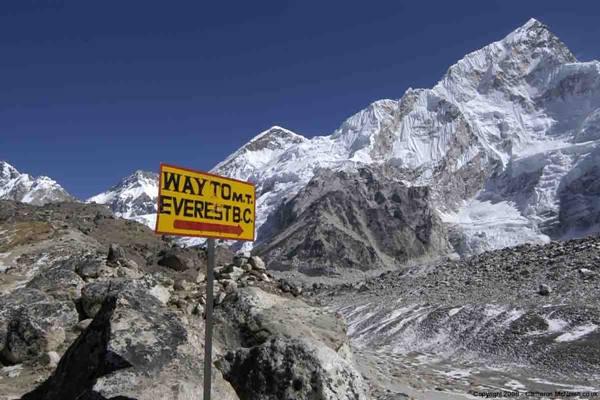 Menuju Gunung Everest dari Nepal. - iciclesadventuretreks.com