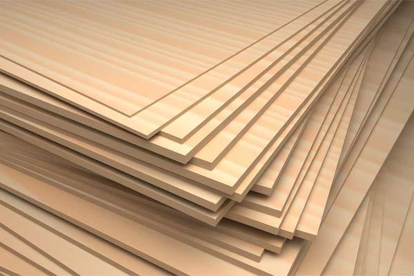 Multiplek alias plywood dibuat dari kulit kayu yang berlapis-lapis dan kemudian dipress menggunakan tekanan yang sangat tinggi. Multiplek mempunyai tekstur rapat, kekuatan tinggi, dan tahan air. - foto: perthtimberco.com