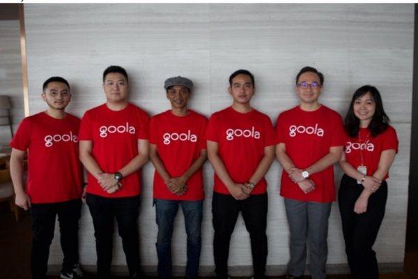 Benz Budiman, Kevin Susanto, Arif Setio Budi, Gibran Rakabuming (Goola), Chandra Tjan & Melina Subastian (Alpha JWC Ventures)