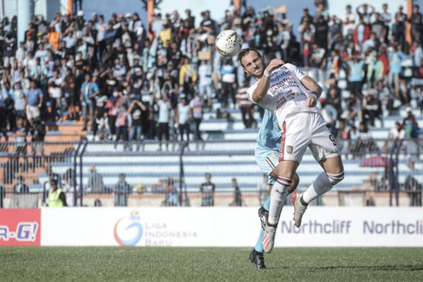 Penyerang Bali United Ilija Spasojevic - BaliUtd.com