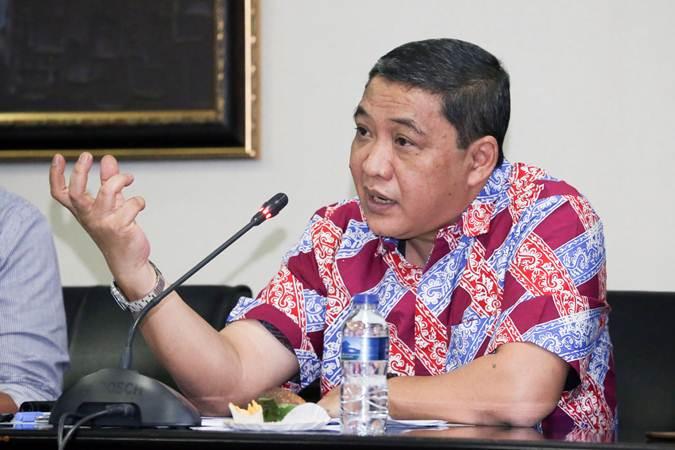 Direktur Utama PT Pelabuhan Indonesia (Pelindo) III Doso Agung. - Istimewa
