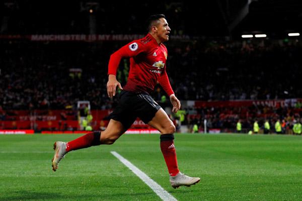 Striker Manchester United Alexis Sanchez - Reuters/Phil Noble