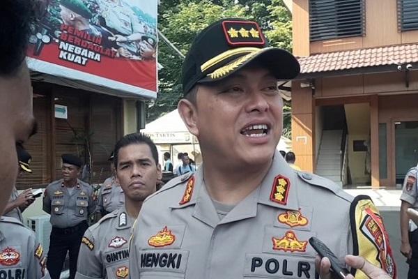 Kapolres Metro Jakarta Barat Kombes Pol Hengki Haryadi - Antara