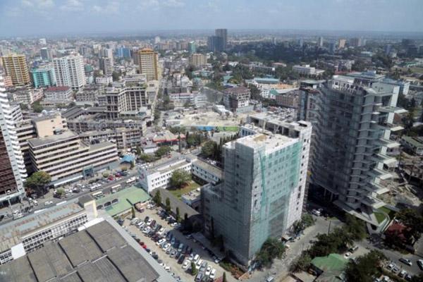 Dar es Salaam, salah satu kota terpenting di Tanzania. - Reuters/Andrew Emmanuel
