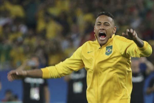 Neymar da Silva Jr. - Reuters/Paulo Whitaker