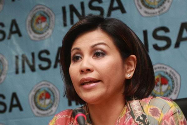 Carmelita Hartoto terpilih menjadi Ketua Umum Asosiasi Pemilik Kapal Nasional periode 2015-2019 secara aklamasi dalam rapat umum Insa XVI. - JIBI