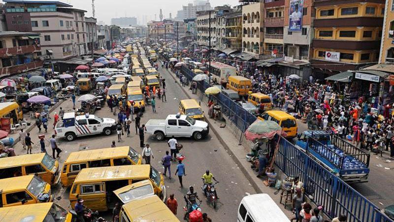 Pusat komersial Lagos, Nigeria. Nigeria termasuk negara dengan ekonomi terdepan di Afrika. - Reuters/Nyancho Nwanri