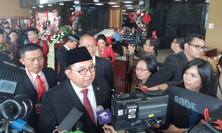 Wakil Ketua DPR RI Fadli Zon di Kompleks Parlemen, Jakarta, Jumat (16/8/2019). - Bisnis/Lalu Rahadian
